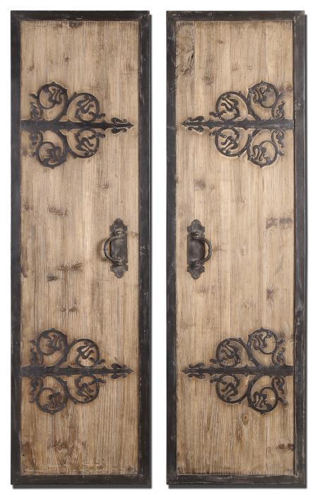 Uttermost 07630 Abelardo Panels, S/2 - фото 2