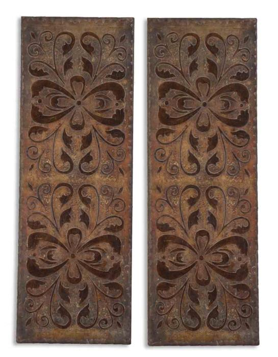 Uttermost 13643 Alexia, Panels, S/2 - фото 2