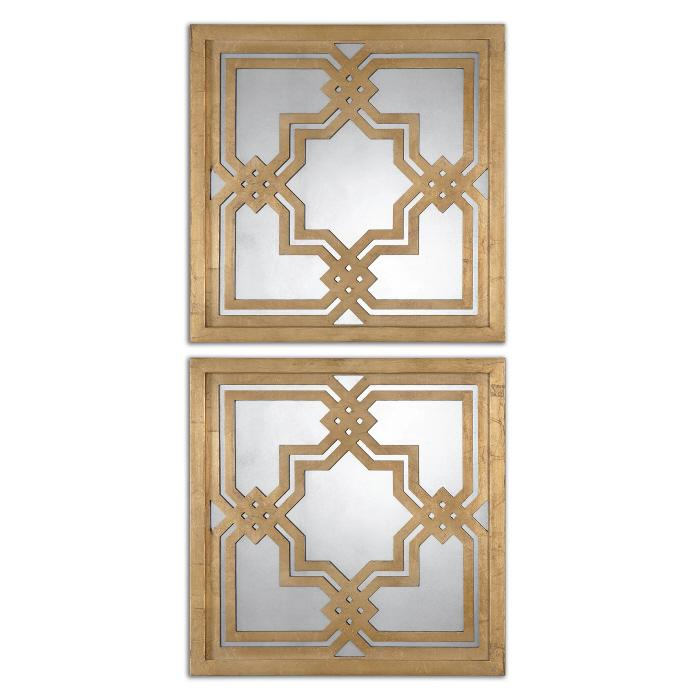 Uttermost 13865 Piazzale Squares, S/2 - фото 2