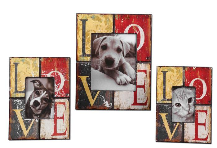 Uttermost 18512 Love, Photo Frames, S/3 - фото 2