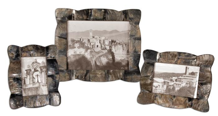 Uttermost 18530 Raw Horn, Photo Frames, S/3 - фото 2
