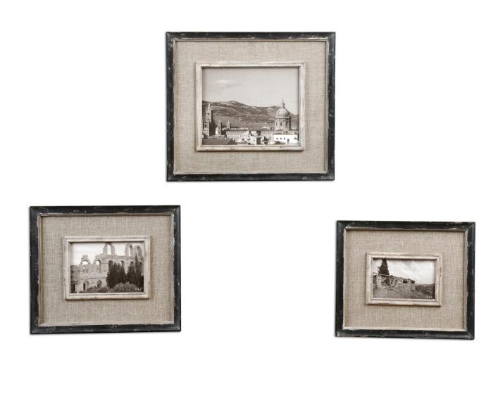 Uttermost 18537 Kalidas, Photo Frames, S/3 - фото 2