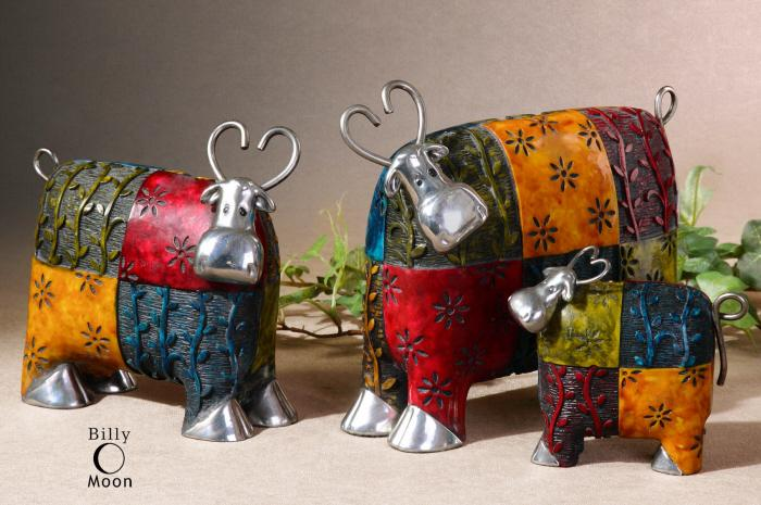 Uttermost 19058 Colorful Cows - фото 2