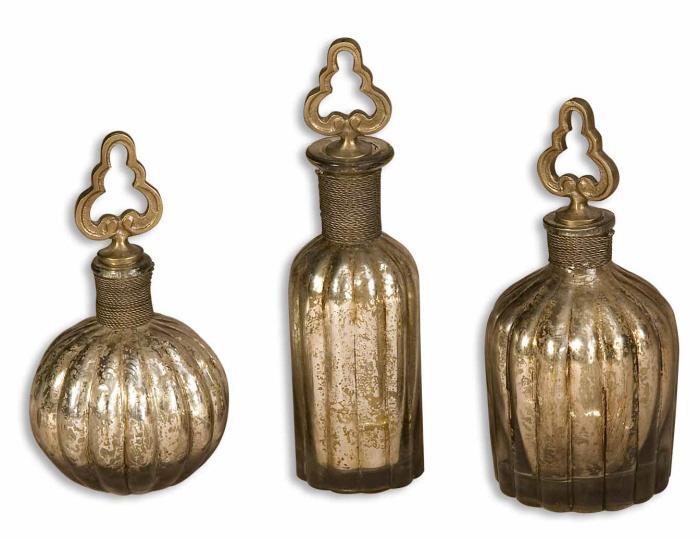 Uttermost 19141 Kaho, Perfume Bottles, S/3 - фото 2