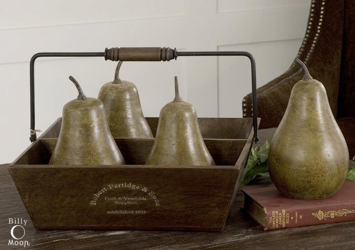 Uttermost 19170 Pears In Basket - фото 2