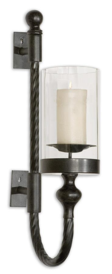 Uttermost 19476 Garvin Twist, Sconce with Candle - фото 2
