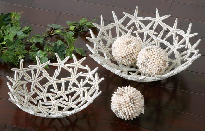 Uttermost 19557 Starfish Bowls with Spheres (плохая упаковка) - фото 2