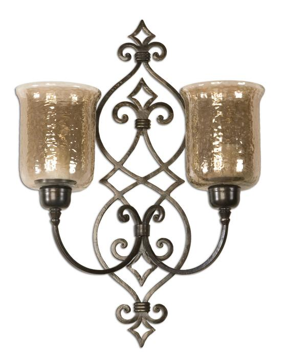 Uttermost 19564 Sorel, Double Wall Sconce - фото 2