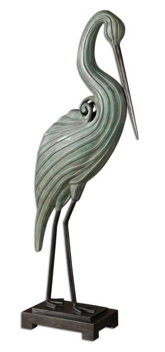 Uttermost 19566 Keanu, Heron Sculpture - фото 2
