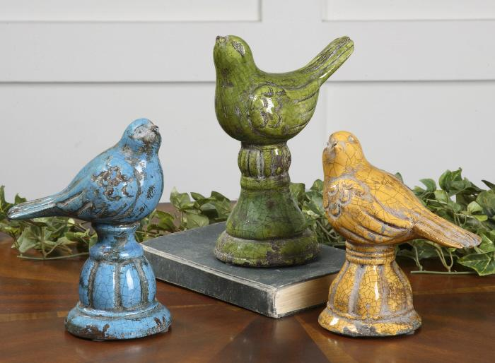 Uttermost 19705 Bird Trio - фото 2
