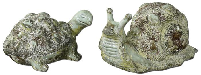Uttermost 19706 Tortoise and Snail, S/2 - фото 1