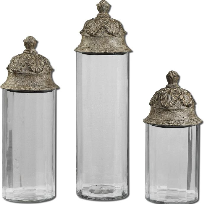 Uttermost 19714 Acorn, Canisters, S/3 - фото 2