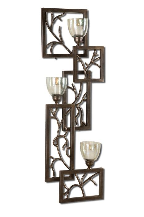 Uttermost 19736 Iron Branches, Wall Sconce - фото 2