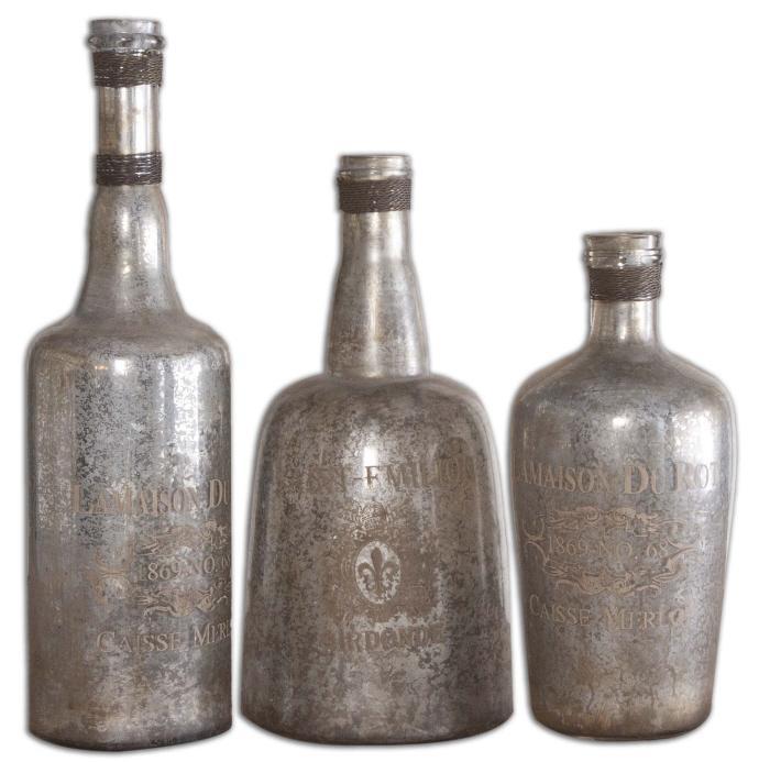 Uttermost 19753 Lamaison, Bottles, S/3 - фото 2