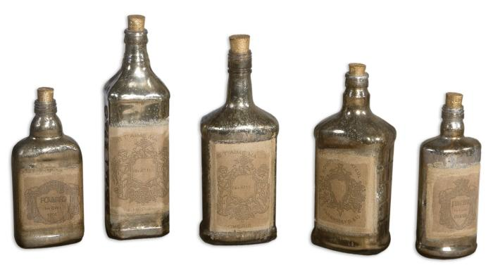 Uttermost 19754 Recycled Bottles, S/5 - фото 2