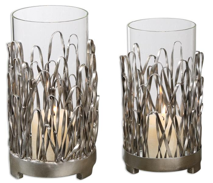 Uttermost 19784 Corbis, Candleholders, S/2 - фото 2