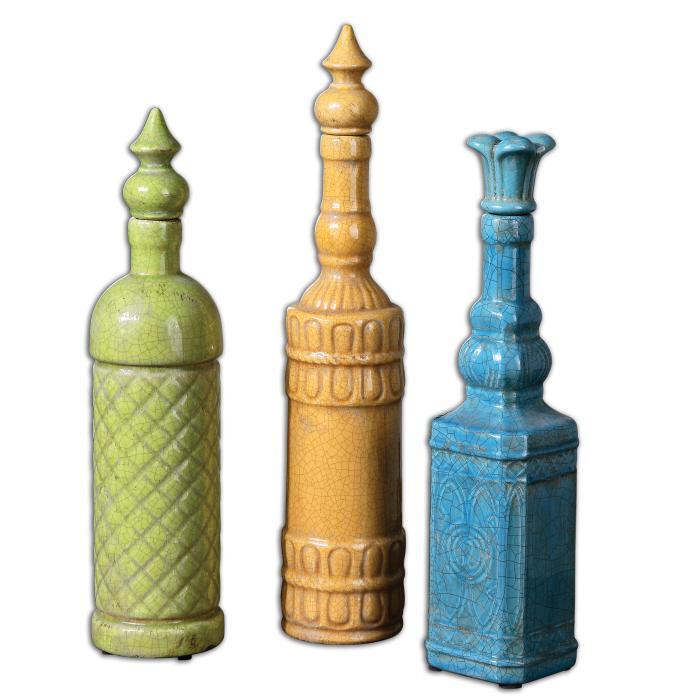 Uttermost 19804 Jonte, Decorative Bottles, S/3 - фото 2