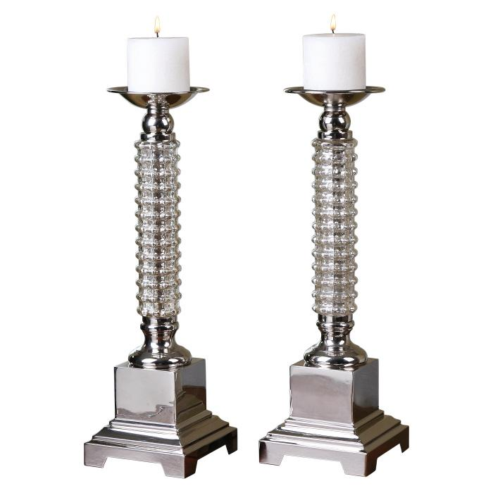 Uttermost 19840 Ardex, Candleholders, S/2 - фото 2