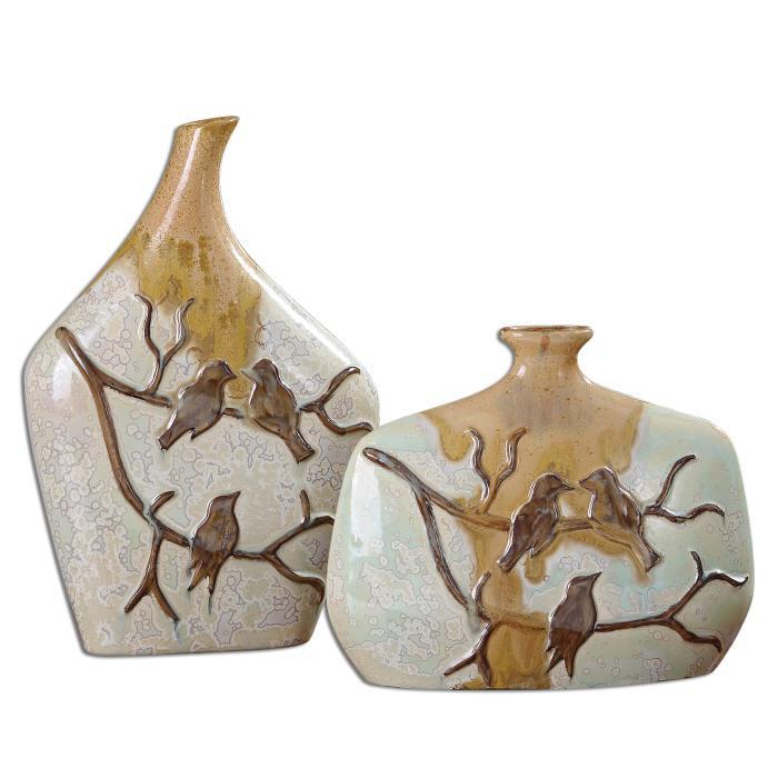 Uttermost 19843 Pajaro, Vases, S/2 - фото 2