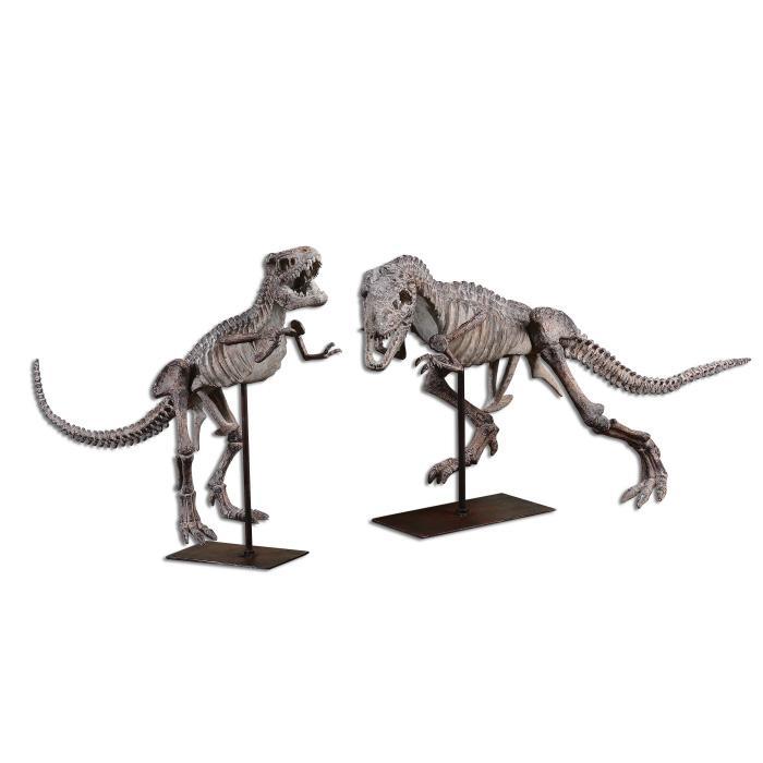 Uttermost 19854 T-Rex, Sculpture, S/2 - фото 2