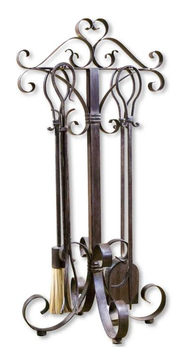 Uttermost 20338 Daymeion, Fireplace Tools, S/5 - фото 2