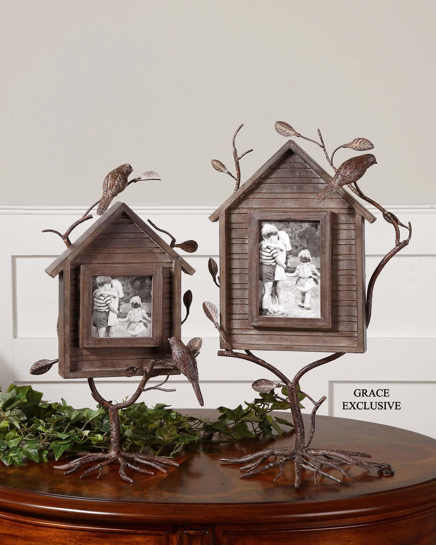 Uttermost 18528 Bird house photo frames set/2 (с дефектом) - фото 2