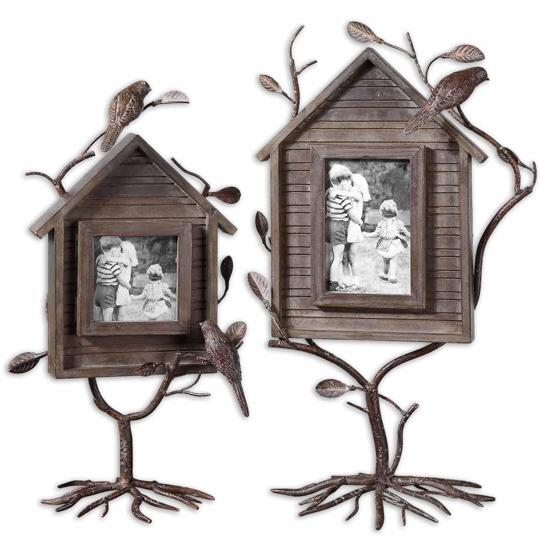 Uttermost 18528 Bird house photo frames set/2 (с дефектом) - фото 1