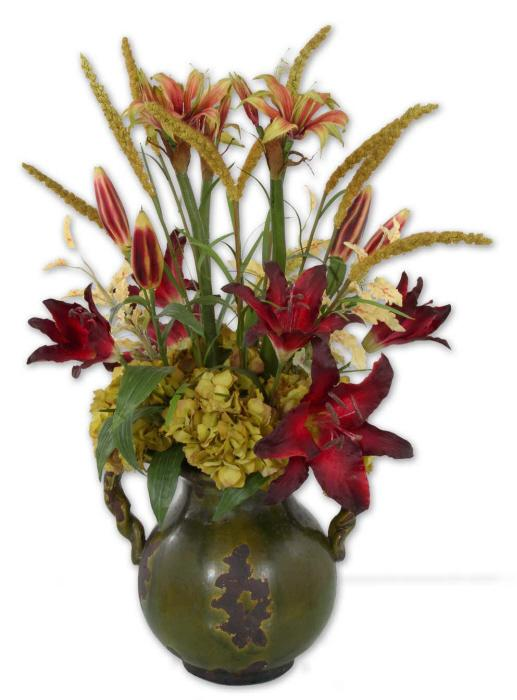Uttermost 60084 Daylilies In Tuscan Urn - фото 2
