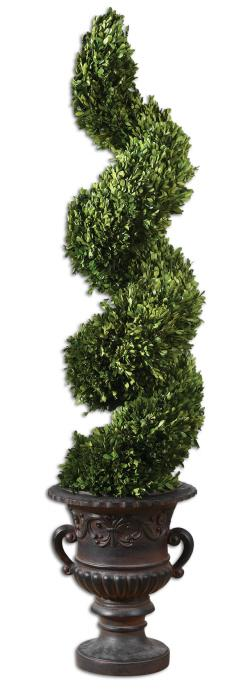 Uttermost 60094 Preserved Boxwood, Spiral Topiary - фото 2