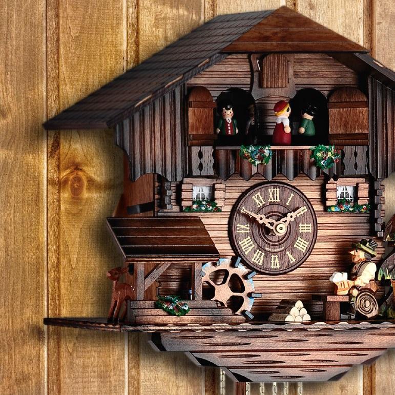 Lowell cuckoo clocks 80-qq465mt - фото 2