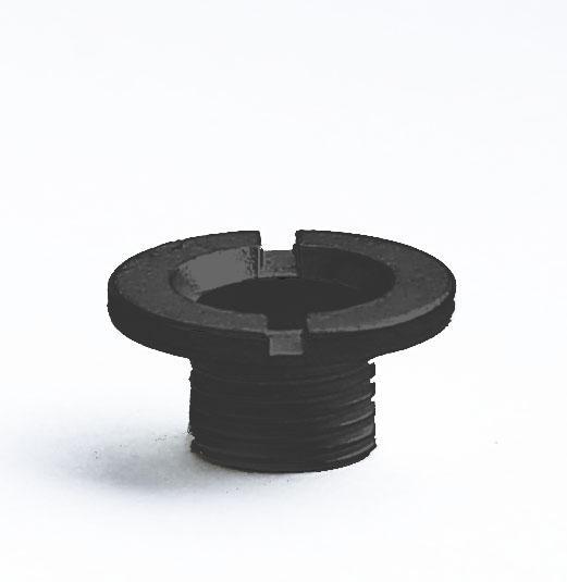 Hermle Центральная гайка, черная, 5мм - фото 1