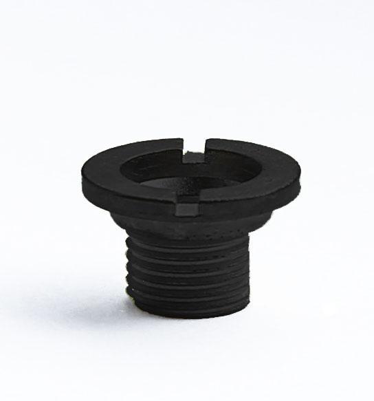 Hermle Центральная гайка, черная, 7мм - фото 1