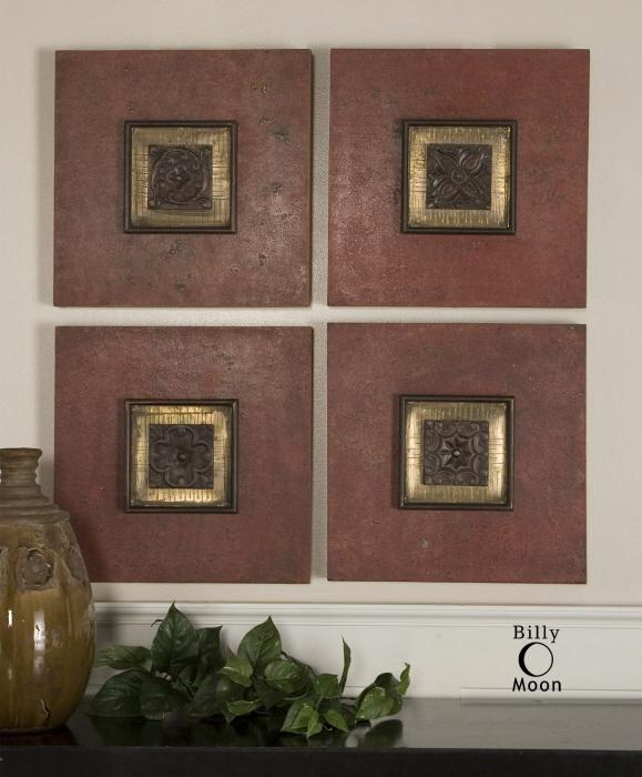 Uttermost 04008 Golovin Squares, S/4 - фото 1