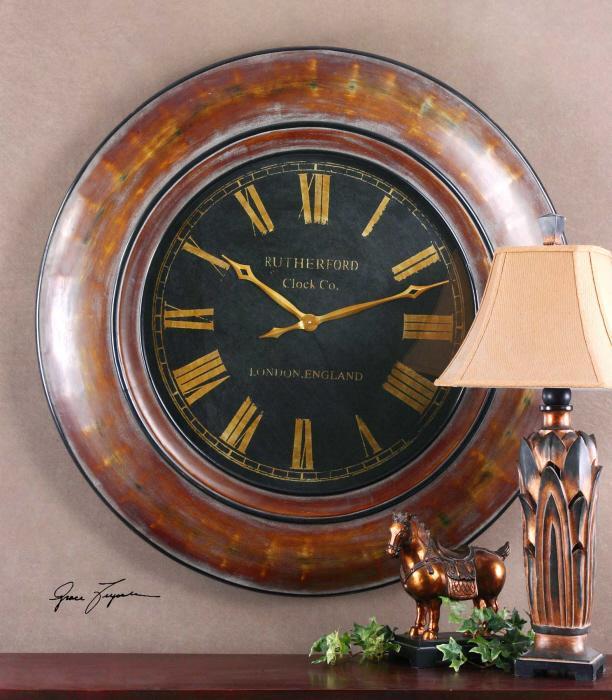 Uttermost 06751 Tyrell, Clock - фото 1