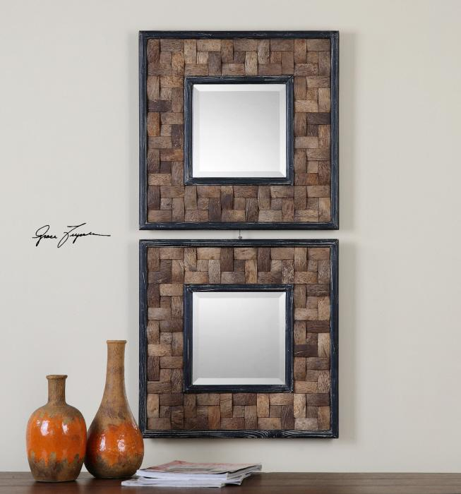 Uttermost 07062 Barros Squares, S/2 - фото 1