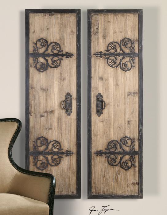 Uttermost 07630 Abelardo Panels, S/2 - фото 1