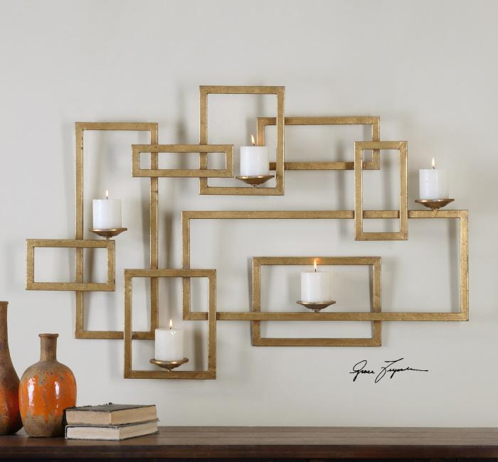 Uttermost 12871 Brighton Wall Sconce - фото 1