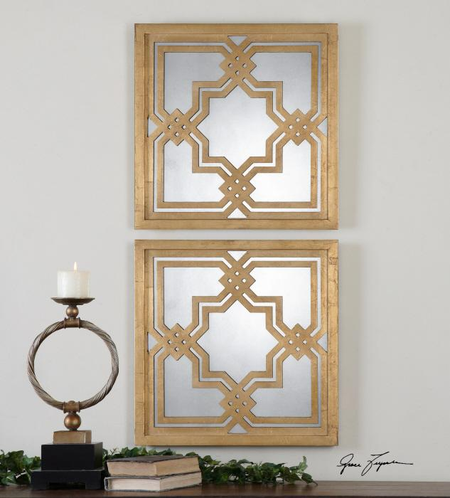 Uttermost 13865 Piazzale Squares, S/2 - фото 1
