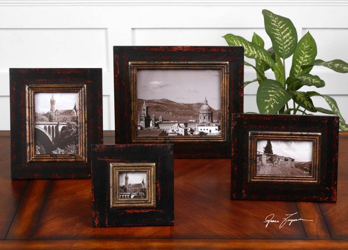 Uttermost 18520 Kitra, Photo Frames, S/4 - фото 1
