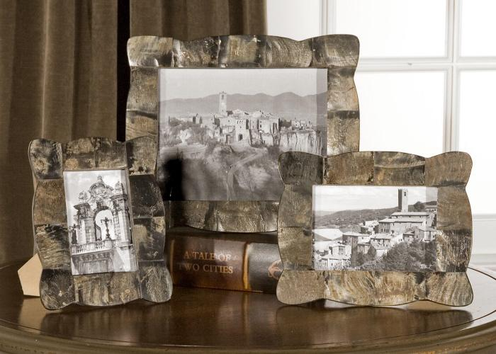 Uttermost 18530 Raw Horn, Photo Frames, S/3 - фото 1