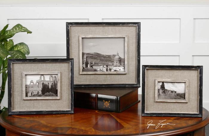 Uttermost 18537 Kalidas, Photo Frames, S/3 - фото 1