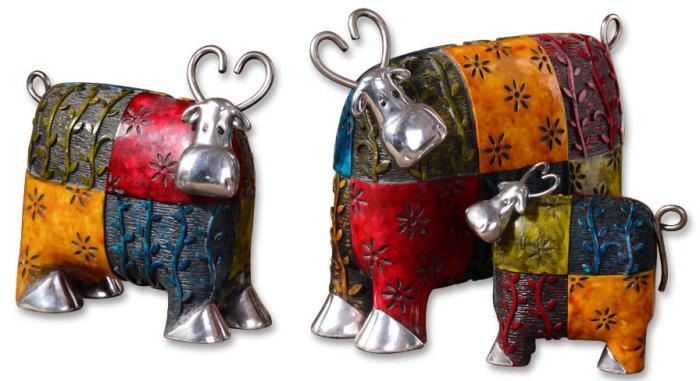 Uttermost 19058 Colorful Cows - фото 1