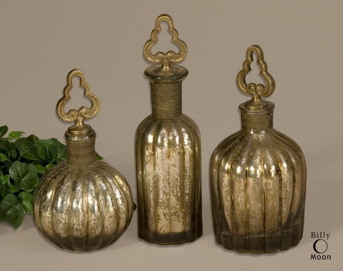 Uttermost 19141 Kaho, Perfume Bottles, S/3 - фото 1