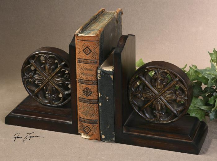 Uttermost 19251 Chakra, Bookends, S/2 - фото 1