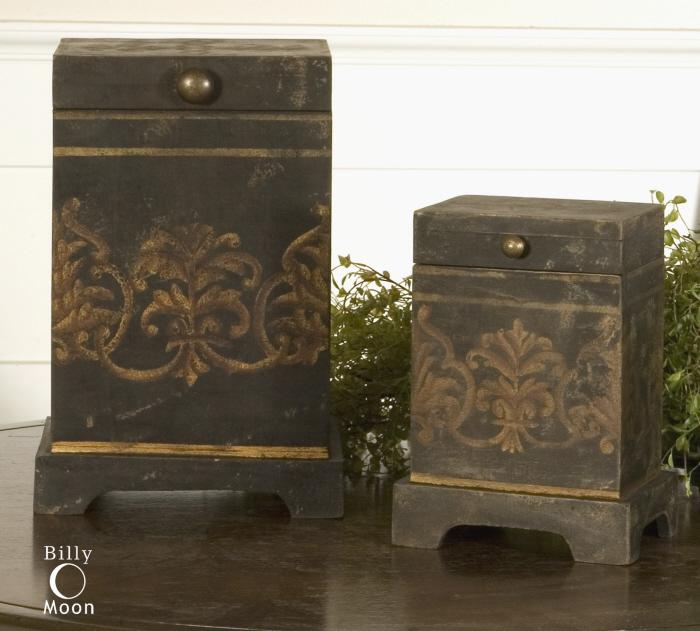 Uttermost 19320 Melani, Boxes, S/2 - фото 1