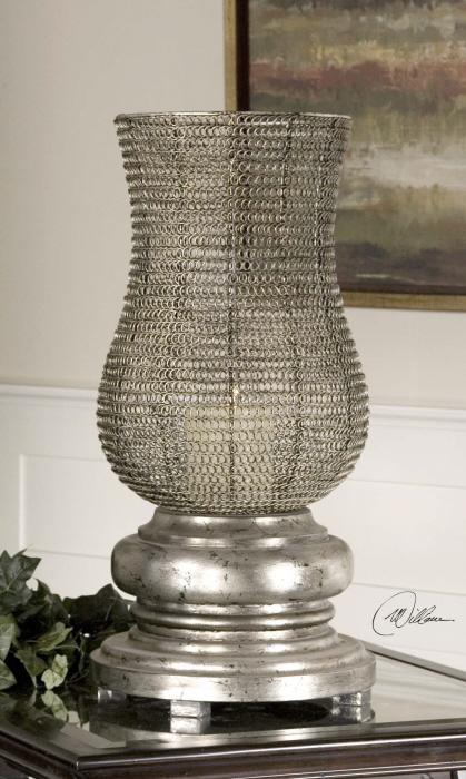 Uttermost 19413 Rickma Silver, Candleholder - фото 1