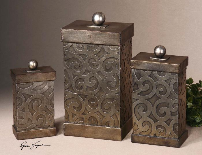 Uttermost 19418 Nera, Boxes, S/3 - фото 1
