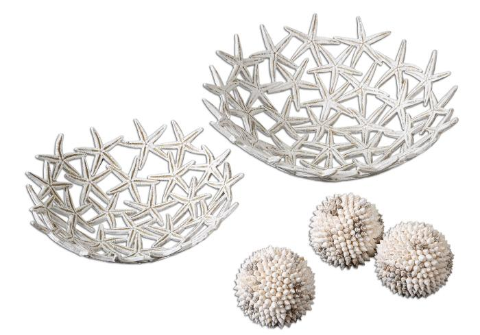 Uttermost 19557 Starfish Bowls with Spheres - фото 1