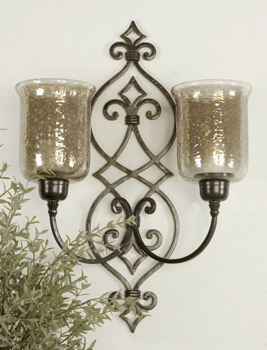 Uttermost 19564 Sorel, Double Wall Sconce - фото 1