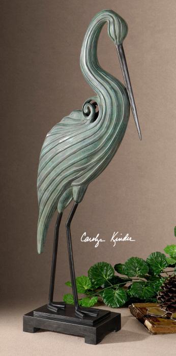 Uttermost 19566 Keanu, Heron Sculpture - фото 1